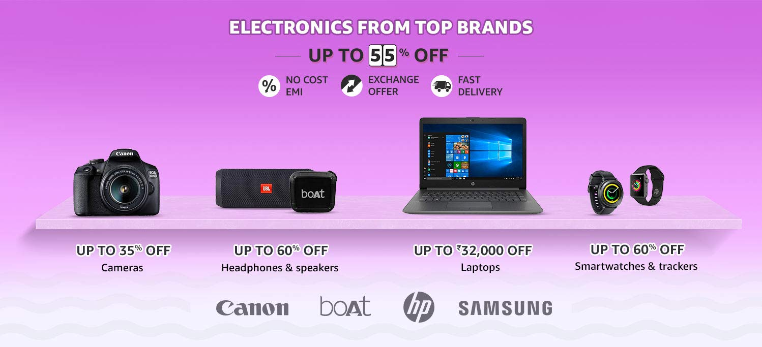 Amazon Summer Sale Electroincs Offers