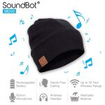 SoundBot SB210 Wireless Winter Beanie Headset