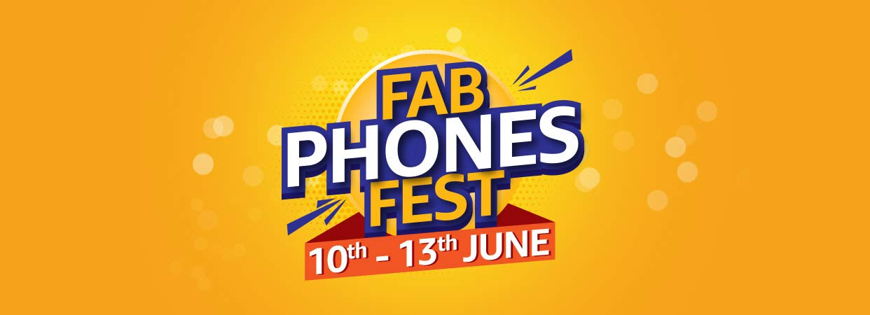Amazon Fab Phones Fest 10th - 13th JUNE
