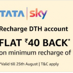 Amazon TataSky Offer