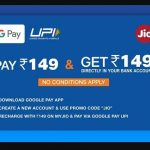 Google Pay Jio Offer