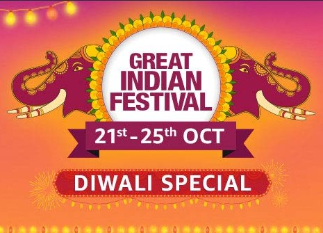 Amazon Great Indian Festival 21st – 25th OCT 2019