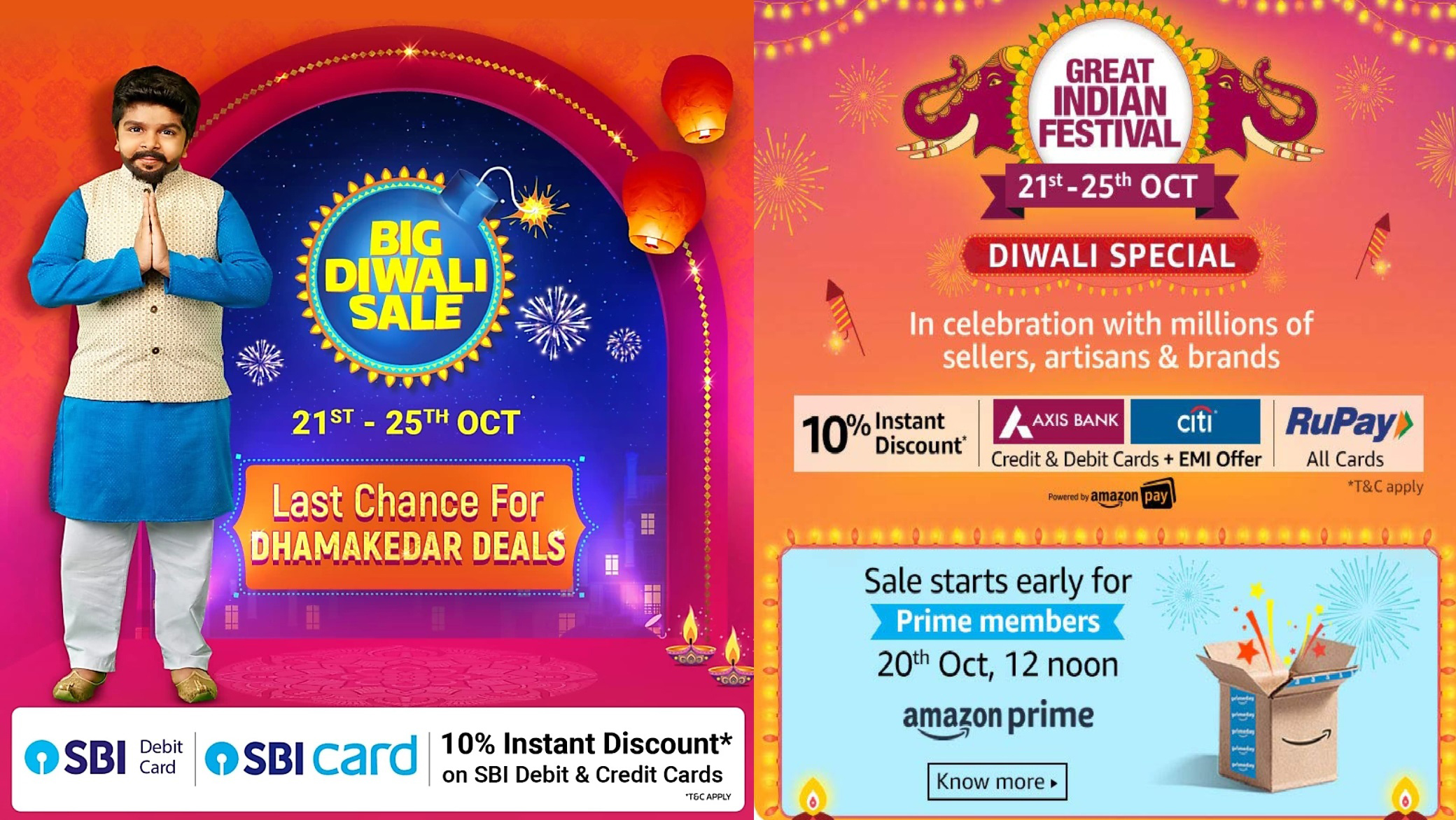 Flipkart Diwali Sale 21st – 25th OCT 2019