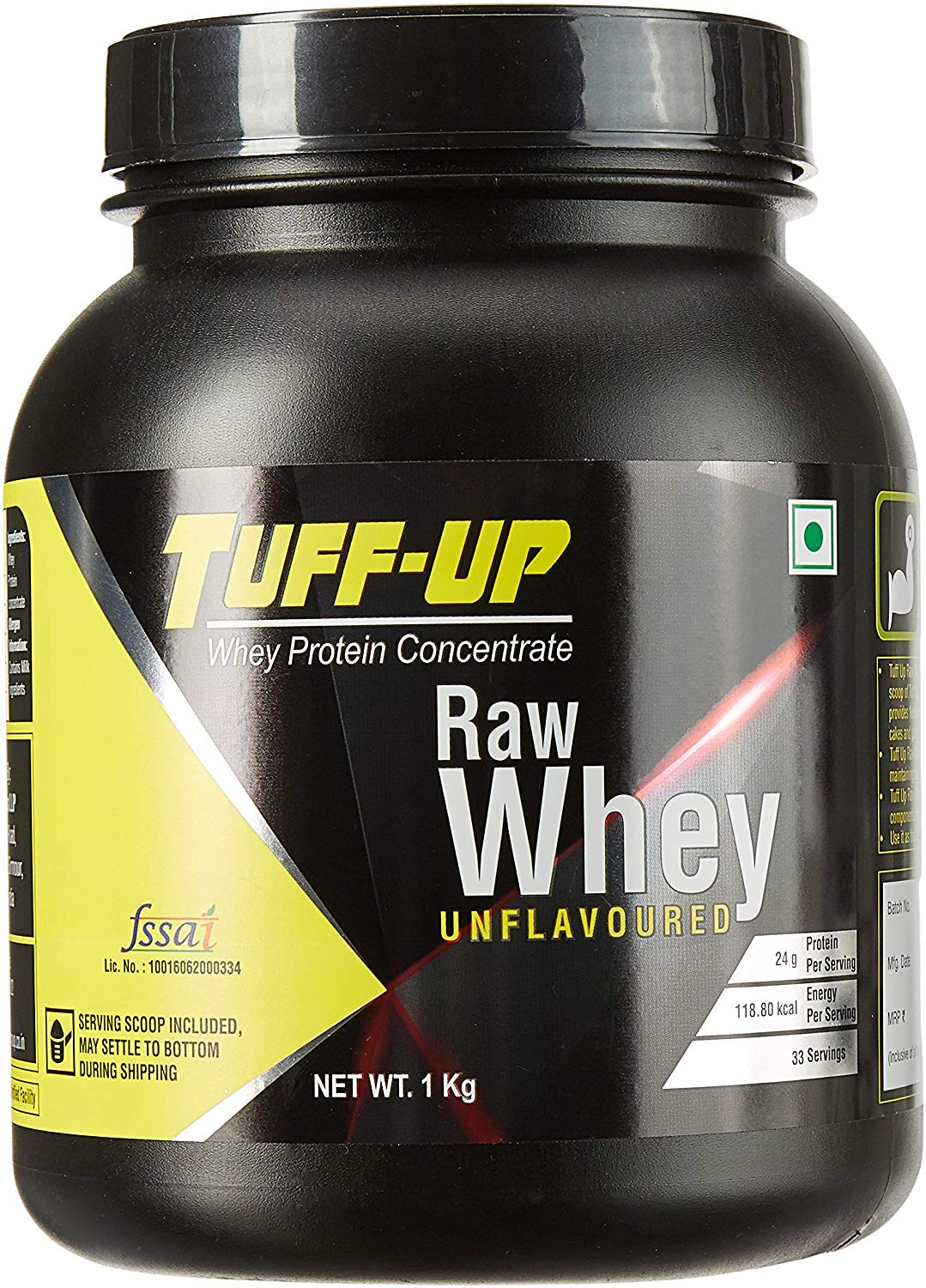 Tuff Up Raw Whey Protein Concentrate