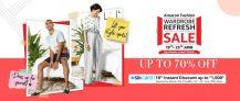 Amazon Fashion Wardrobe Refresh Sale  19th – 25th June 2020