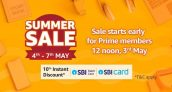 Amazon Summer Sale 4th – 7th May